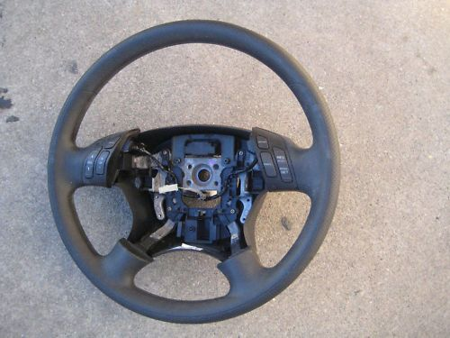 2006 2007 Honda Accord Black steering wheel OEM